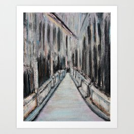 Paris Noir Art Print