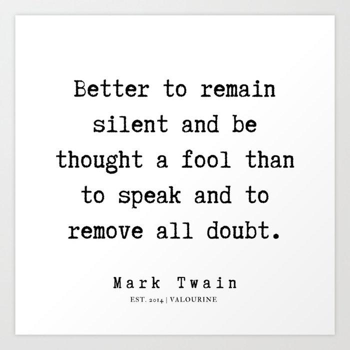 115 | Mark Twain Quotes | 190730b Art Print by quotesandsayings