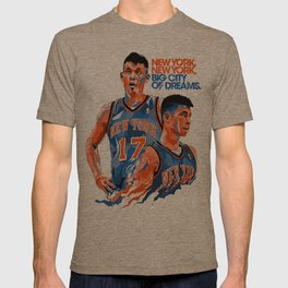 Jeremy Lin: New York, New York, Big City of Dreams. T-shirt
