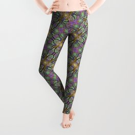 ANCIENT PEAR TREE MANDALA Leggings