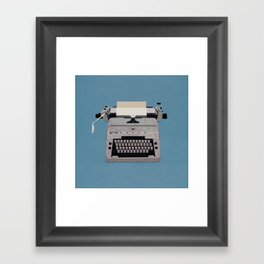 Writer's Block (The Shining) Framed Art Print