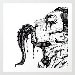 The cure Art Print