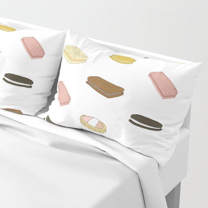 biscui - biscuit pattern Pillow Sham