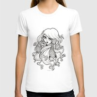 art nouveau T-shirts featuring Art Nouveau by Sweeney Boo