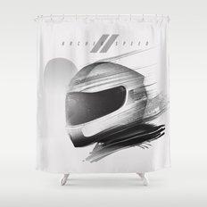 Archeo Speed Shower Curtain
