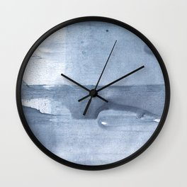 Light steel blue abstract Wall Clock