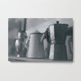 Coffee - a history Metal Print