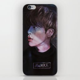 awake.jpg iPhone Skin