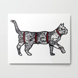 Catisfaction Metal Print