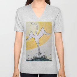 No-one Can Take Away Your Magnificent Goodness Unisex V-Neck