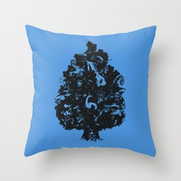 Adventures in Cryptozoology Throw Pillow