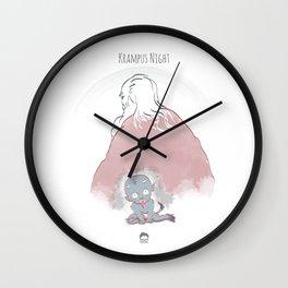 Krampus Night Wall Clock