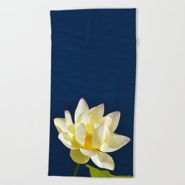 Lotus Flower by Teresa Thompson Beach Towel