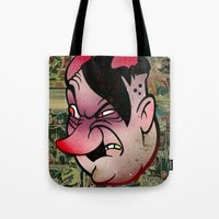 devil Tote Bags featuring Devil by Beery Method