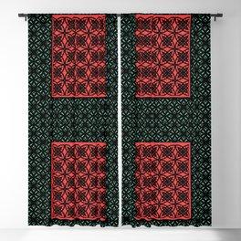 Art Deco Bohemian Mosaic 2 Blackout Curtain