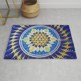 The Seed of Life Rug