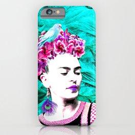 Frida Kahlo ang Crystalls iPhone Case