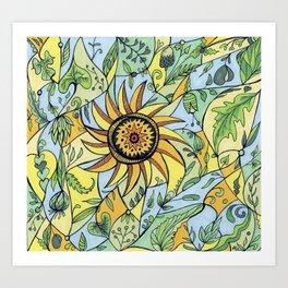 Leaf Love Art Print
