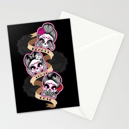 Wise Skulls Stationery Cards