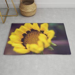 Summer in a sunflower - Floral Photography #Society6 Rug