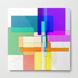 Squares combined no. 6 Metal Print