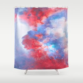 Stay with me between the Clouds and your Dreams Shower Curtain