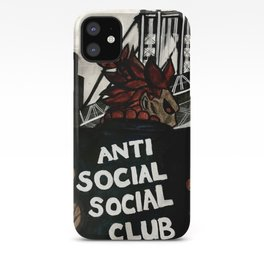 Akuma Anti Social Social Club iPhone Case