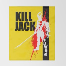 KILL JACK - ASSASSIN Throw Blanket