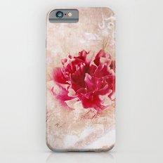 Vintage peony iPhone 6s Slim Case