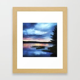 New Day - Sunrise Art Framed Art Print