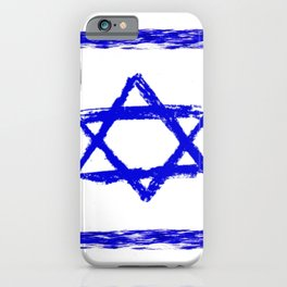 flag of israel 8-יִשְׂרָאֵל ,israeli,Herzl,Jerusalem,Hebrew,Judaism,jew,David,Salomon. iPhone Case