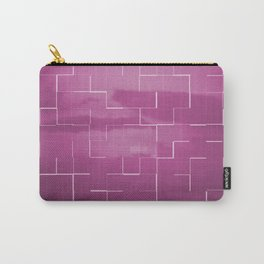 Labyrinth pink Carry-All Pouch