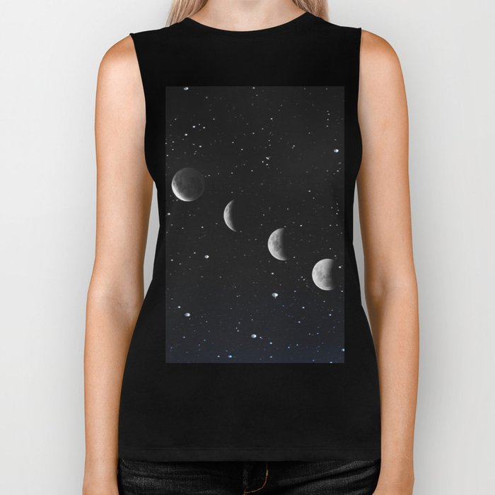 Phases of the Moon Biker Tank
