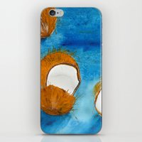 coco iPhone & iPod Skins featuring Coco by Cro_Ki