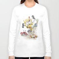 spongebob Long Sleeve T-shirts featuring Real Life SpongeBob by onez