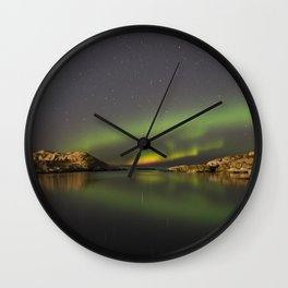 Northern Lights Wall Clock
