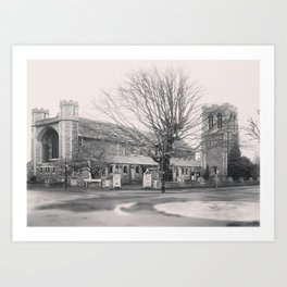All Saints Church in Ealing Art Print