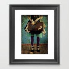 Fishy Stuff Framed Art Print