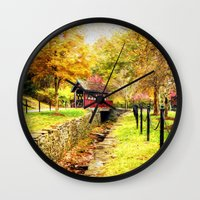 whisky Wall Clocks featuring Whisky Creek by ThePhotoGuyDarren