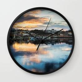 Rio Douro II Wall Clock