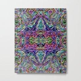 Ridged Patterns 3 A Metal Print