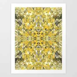 sunshine meditation Art Print