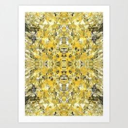 sunshine meditation Art Print