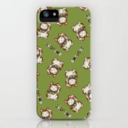 Maneki Neko Mhysa iPhone Case