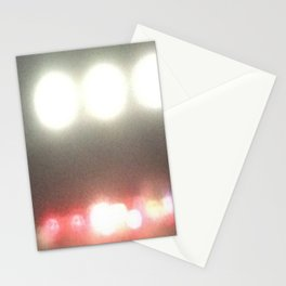 Abstracte Light Art in the Dark Version 39 Stationery Cards