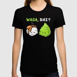 Sushi Wasabi Cute Couple Wasa Bae T-shirt