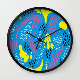 Hot! Summer Wall Clock