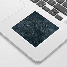 Wooden Dark Sticker