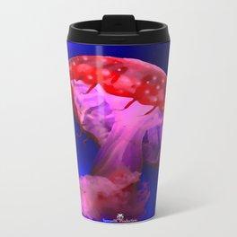 Jellyfish Metal Travel Mug