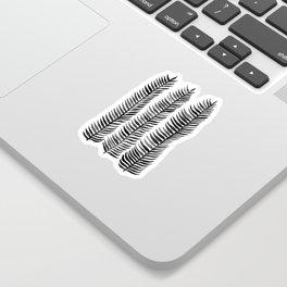 Black Seaweed Sticker